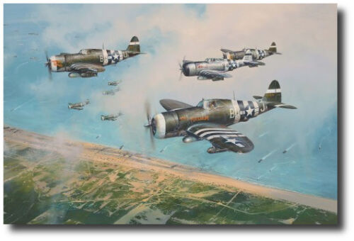 Hell Hawks Over Utah by Robert Taylor  - P-47D Thunderbolt - Tribute Edition