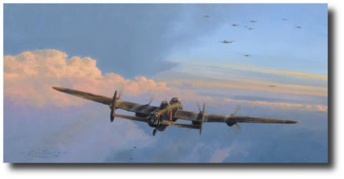 High Cost RAF A/P by Robert Taylor - Lancaster Bomber - WWII - RAF Edition