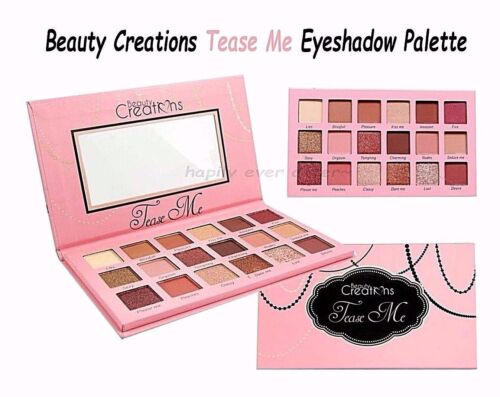 Beauty Creations Tease Me Eyeshadow Palette *Authentic & USA SELLER* NEW