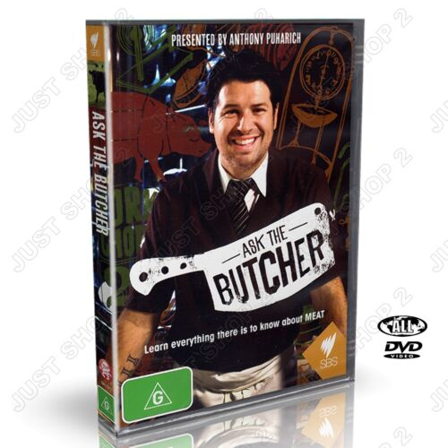 Ask The Butcher : Learn Everything To Know About Meat : New DVD