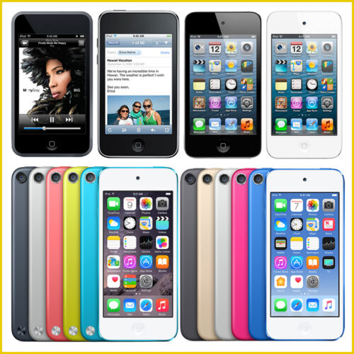 Apple iPod Touch 1st, 2nd, 3rd, 4th, 5th, 6th Generation / 8GB, 16GB, 32GB, 64GB <br/> Choose - Generation, GB Size, Color! 45 Day Guarantee!