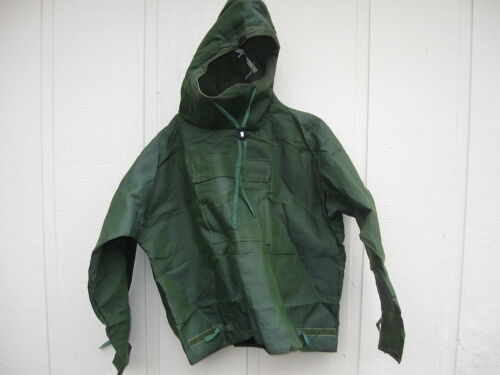 NATO Issue OD Green Protective Suit MK III Coat w/ Hood Medium New Sealed in Bag