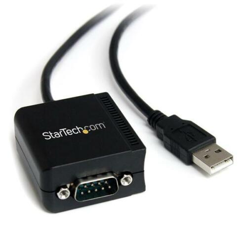 StarTech 1 Port FTDI USB to Serial Adapter Cable with COM Retention