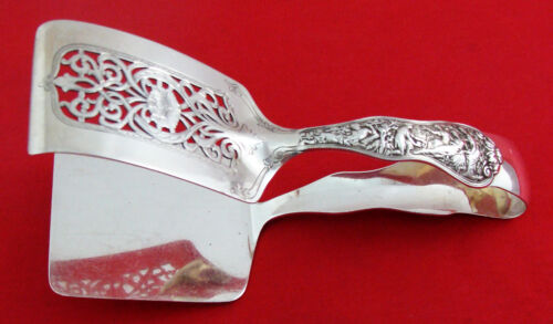 """Olympian by Tiffany & Co. Sterling Silver ASPARAGUS TONGS, 7 7/8"""", No Mono"""