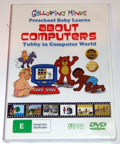 TODDLER / BABY EDUCATIONAL DVD - Galloping Minds ABOUT COMPUTERS DVD  BRAND NEW