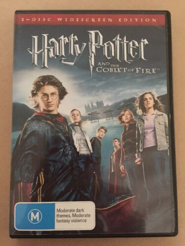 HARRY POTTER AND THE GOBLET OF FIRE 2 DISC SPECIAL EDITION EXCELLENT CONDITION