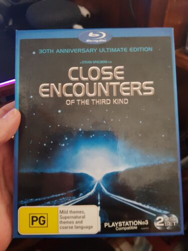 Close Encounters of The Third Kind - 30th Anniver-  Blu-Ray -  DVD  - FREE POST