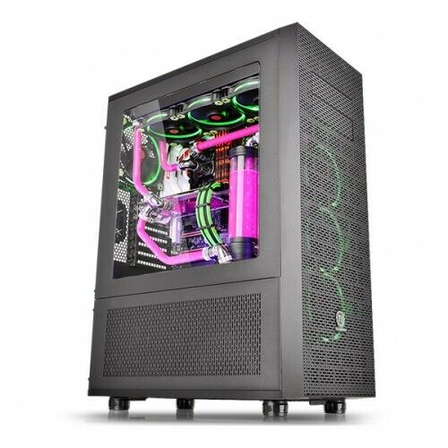 Thermaltake Core X71 Tempered Glass Riing Edition Full Tower Chassis