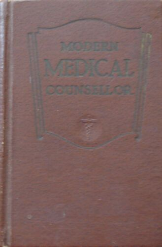 Modern Medical Counsellor by Hubert O Swartout M.D. Dr P.H (Hardcover 1952)