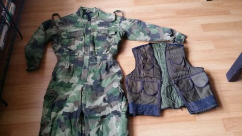 SERBIAN SERB BOSNIA YUGO CAMO COVERALL JIGSAW JUMPSUIT ASSAULT VEST KOSOVO PLCEOriginal Period Items - 156451