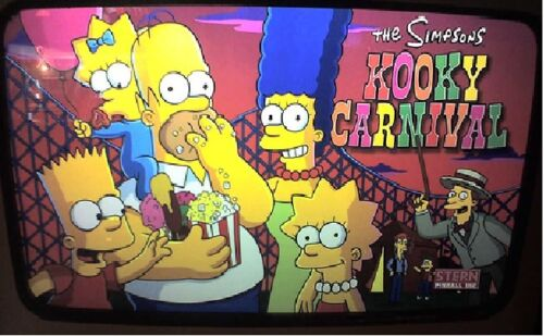 Top Holiday Gifts SIMPSONS KOOKY CARNIVAL Complete LED Lighting Kit SUPER BRIGHT PINBALL LED KIT