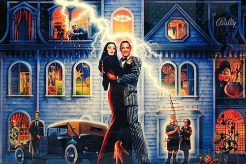Top Holiday Gifts Addams Family Complete LED Lighting Kit custom SUPER BRIGHT PINBALL LED KIT