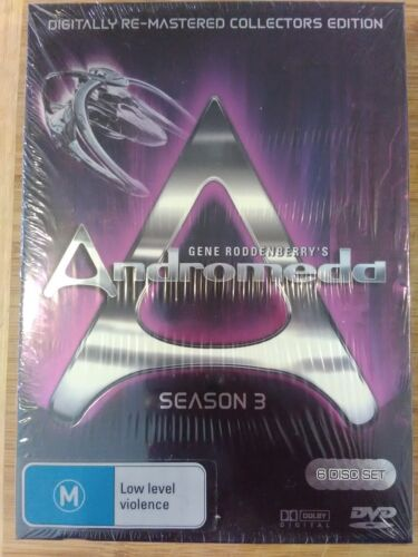 Andromeda - Season 3, Australian Release, Brand New, Sealed, Re-Mastered Edition