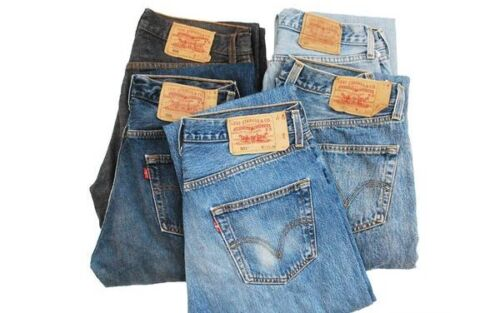 Vintage Levi's 501 Jeans Men Women W28-29-30-31-32-33-34-35-36-38-40-42-44-46-48 <br/> CHEAPEST PRICE ON EBAY,100%GENUINE LEVIS &GREAT QUALITY
