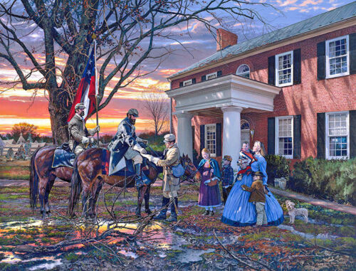 Evening Orders in Strasburg by John Paul Strain Paper Giclee