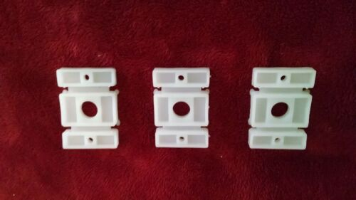 """New Plastic Plate Replacement Part For 35"""" Reindeer Blow Mold Stand ( Lot of 3 )"""