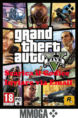 GTA5 - Grand Theft Auto V - PC Rockstar Games codice digitale online 18+ - IT <br/> Redeem it on Rockstar games! Not STEAM! 24*7 Support!