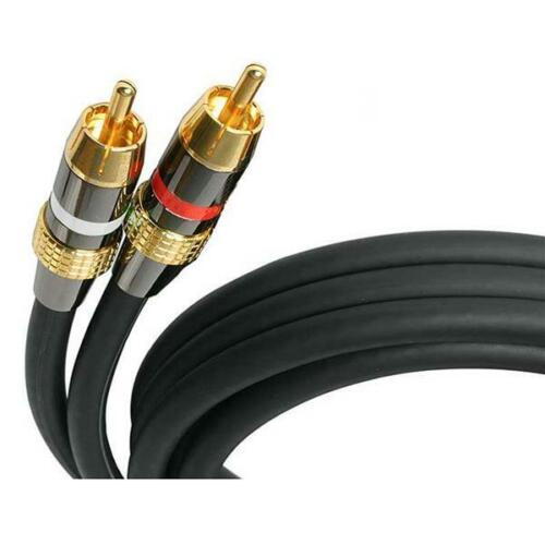 StarTech 30 ft Premium Stereo Audio Cable RCA - M/M