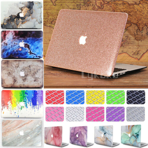 """For MacBook AIR PRO 13""""/13.3"""" Anti-Scratch Matte Hard Case Shell+Keyboard Cover"""