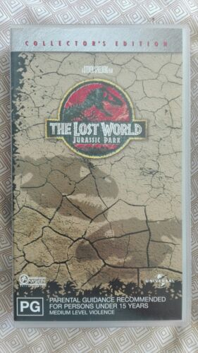 The Lost World Jurassic Park Collector's Edition VHS