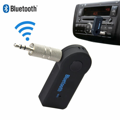 USB Bluetooth Audio Receiver Adaptor Wireless Music 3.5mm Dongle AUX A2DP Car