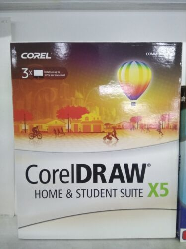 COREL DRAW X5 HOME AND STUDENT