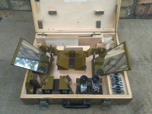 Vintage Mirror Stereoscope Viewer Map Reading Air Photo Military 60sOther Militaria - 135
