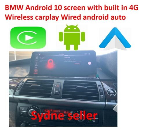 "BMW E70 E71 10.25"" Android 9.0 system with apple carplay&Android auto (SYDNEY)"
