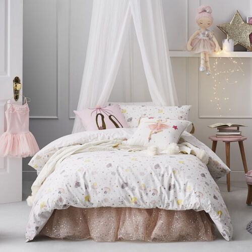 RRP $129.99 Adairs Kids Odette Double Quilt Cover Set BNIP