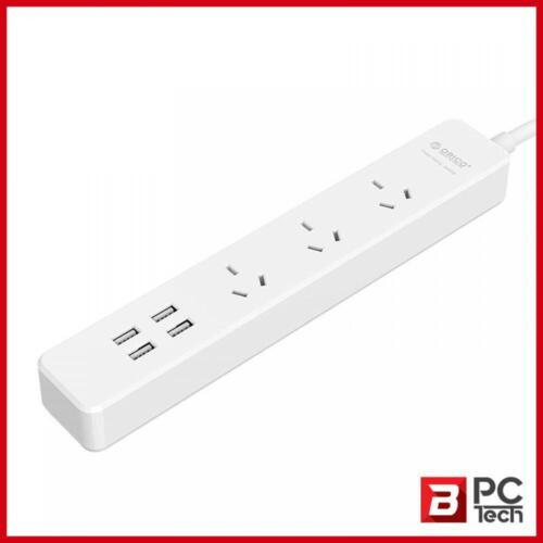 ORICO OSC-3A4U 3 AC Outlet Power Strip with 4 USB 20W Smart Charger Power Board