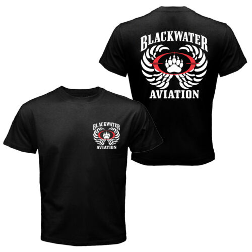 The Blackwater Aviation Worldwide Security Private Military Tactical T-shirt TeeOther Militaria - 135