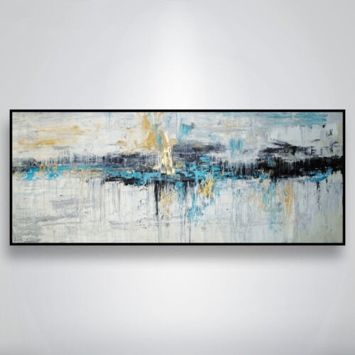 YA798 Large Hand-painted abstract oil painting on canvas Home Wall Decor art