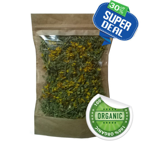 St John's Wort Organic Dried Herbal Tea 100% Pure