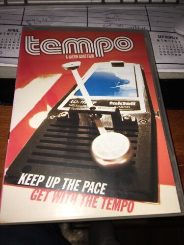 TEMPO Keep Up The Pace Get With The Tempo A Justin Gane Film Surfing DVD