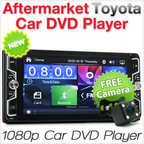 Toyota Avensis Verso Kluger 86 GT Celica Hiace Car DVD Player Stereo USB MP3 CD