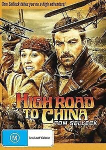 High Road To China DVD Tom Selleck New and Sealed Australian Release