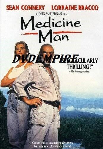 Medicine Man DVD Sean Connery New and Sealed Australia