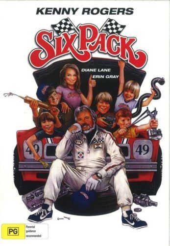 Six Pack DVD Kenny Rogers New and Sealed for Aussie DVD Players