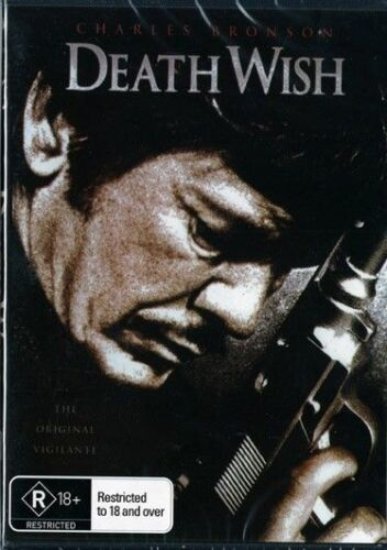 Death Wish Charles Bronson DVD New and Sealed Australian Release