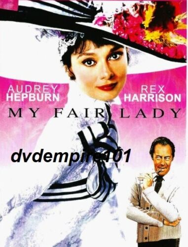 My Fair Lady DVD Audrey Hepburn New and Sealed Australia All Regions