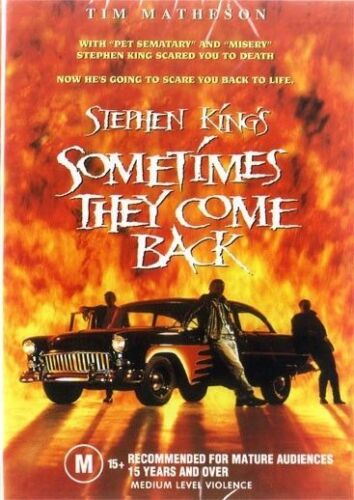 Sometimes They Come Back DVD Stephen King New and Sealed Australian Release