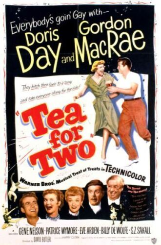 Tea For Two DVD Doris Day New and Sealed Australia All Regions