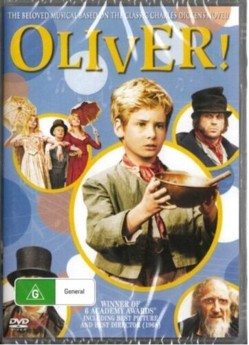 Oliver Original Film 1968 colour DVD New Australia All Regions