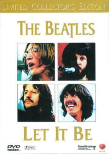 The Beatles Let It be DVD Brand New and Sealed Australia All Regions
