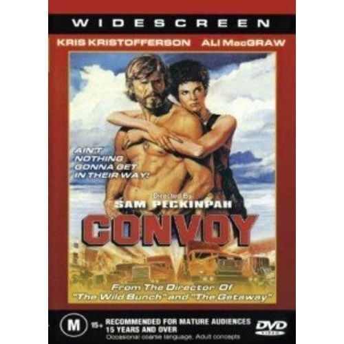 Convoy DVD Kris KristoffersonBrand New and Sealed Australian Release