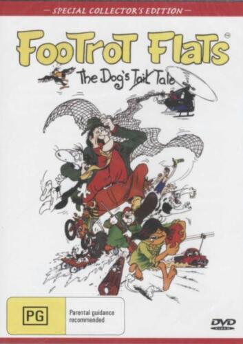 Footrot Flats DVD The Dog's Tale New and Sealed Australia