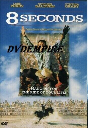 8 Seconds DVD Luke Perry New and Sealed Australian Release