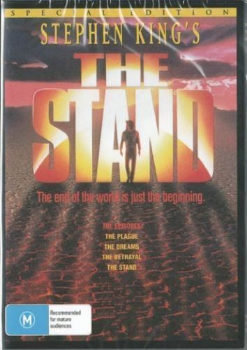 The Stand DVD Stephen King Special Edition Brand New and Sealed Region 4
