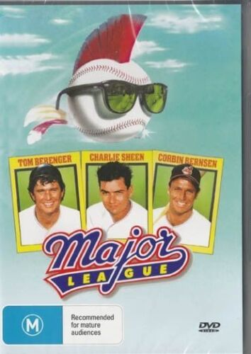 Major League DVD Charlie Sheen New and Sealed Australia All Regions