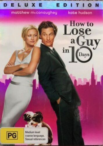 How to Lose a Guy In 10 days DVD Deluxe Edition Brand New Australia Region 4
